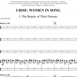 I Rise (4-voice+single instruments)