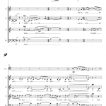 When The Violin -SATB violin
