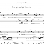 Even After All This Time (SATB only)